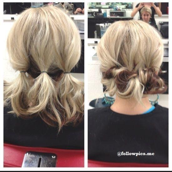 Dans ce post découvrez nos meilleures idées et tutoriels de coiffures  faciles pour cheveux courts que vous pouvez réaliser vous même.