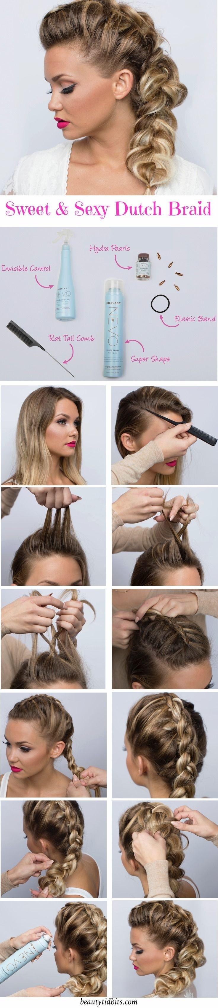 25 mod les coiffures avec tresses pour vous inspirer coiffure simple et facile. Black Bedroom Furniture Sets. Home Design Ideas