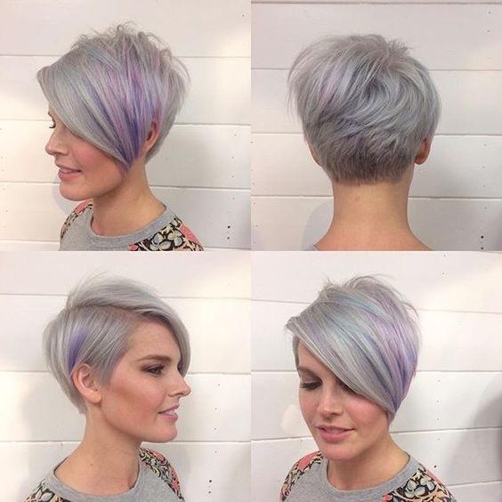 Coupes courtes femme tendance 2017 coiffure simple et facile - Coupe courte tendance ...