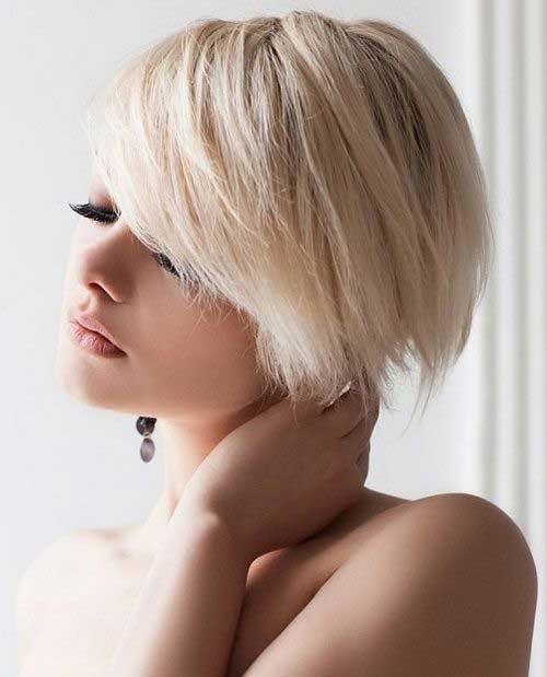 belles coupes courtes blondes piquer t 2017 coiffure simple et facile. Black Bedroom Furniture Sets. Home Design Ideas