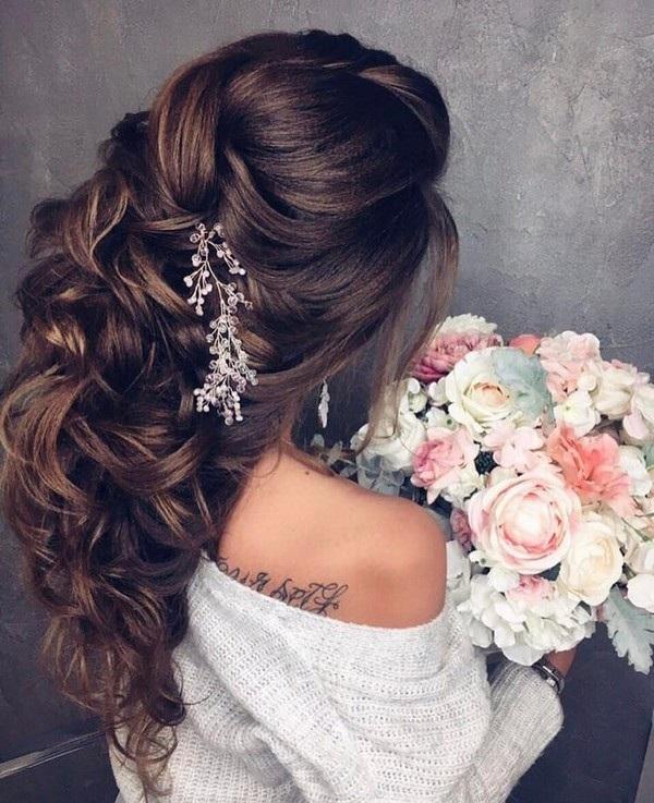 Wedding Hairstyles Extensions: Magnifiques Idées De Coiffures Pour Mariées Tendance 2017
