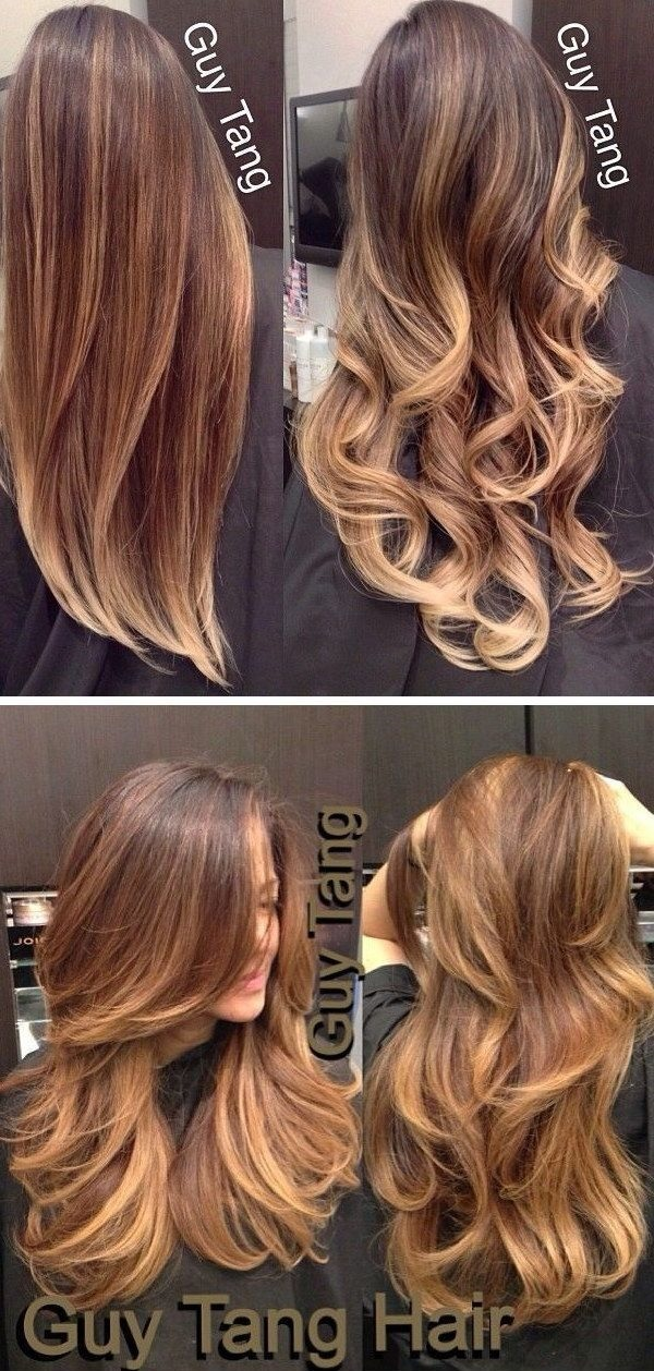 Caramel Blonde Hair Dye: 20 Colorations De Cheveux ,ombré Hair Chic Et Tendance