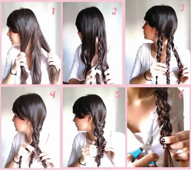 Tresse facile faire soi m me 10 tutoriels tapes par tapes coiffure simple et facile - Comment faire une tresse indienne ...