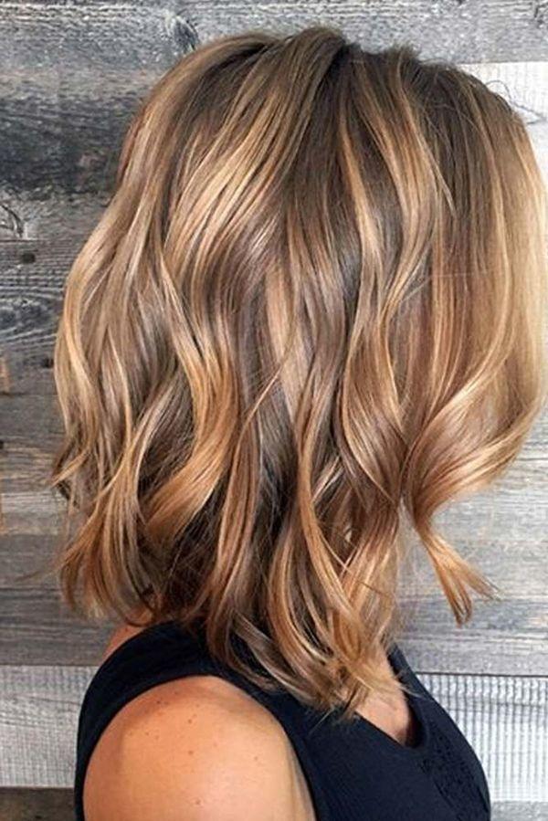 Cheveux Mi Longs Coupes Sublimes Et Couleurs Fashion