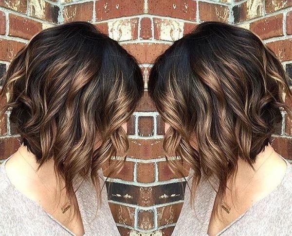magnifiques mod232les de cheveux m233ch233s tendance automne