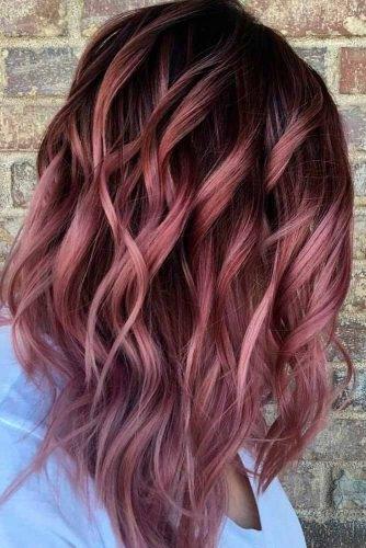 Cheveux Lilas Avec Un Gout En Chocolat Les Plus Beaux