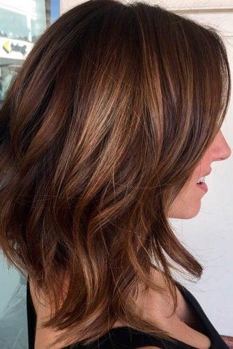 modele de coiffure cheveux long dégradé