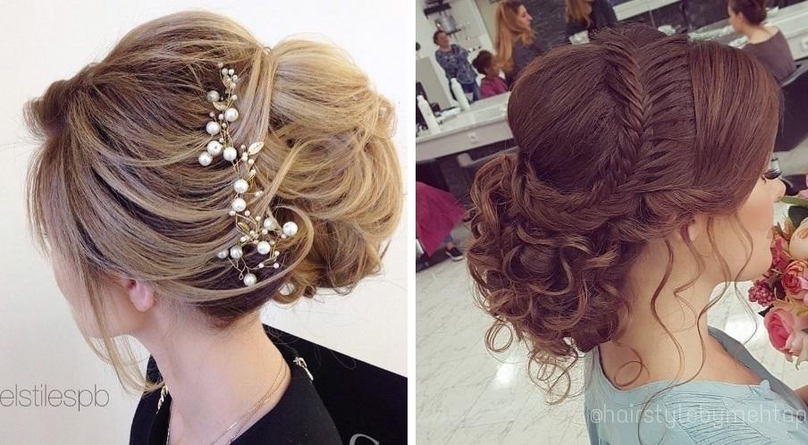 coiffure chignon mariage : photos de coiffure mariage 2017   Coiffure simple et facile
