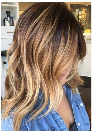 Ombr 233 Hair Cheveux Mi Longs Inspirez Vous Coiffure