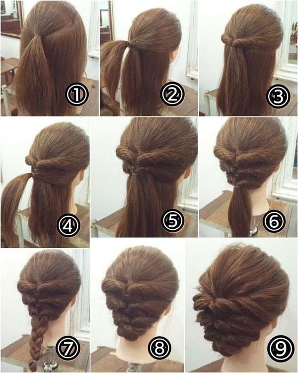 tutoriel coiffure chignon tress les plus beaux tutos et photos coiffure simple et facile. Black Bedroom Furniture Sets. Home Design Ideas