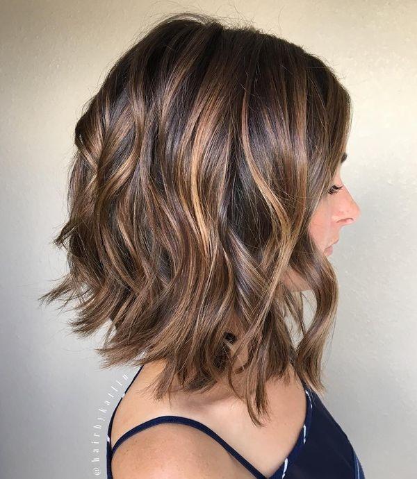 Coiffure cheveux mi long ete 2018