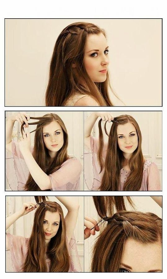 magnifique idées de coiffures cheveux pour femme | Coiffure simple et facile