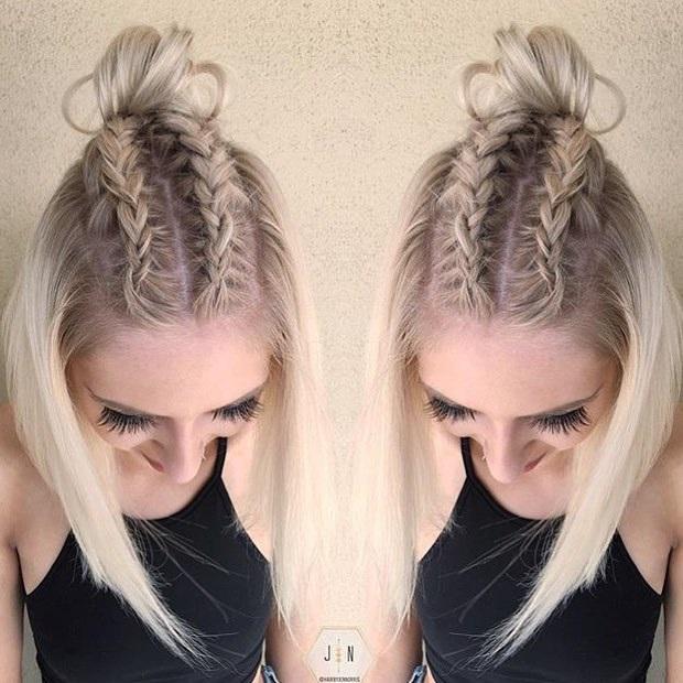 Coiffure Femme Simple : 15 magnifiques tresses pour cheveux longs coiffure simple et facile ~ Nature-et-papiers.com Idées de Décoration