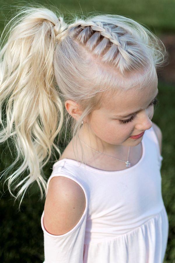 15 Magnifiques Coiffures Tresses Pour Petites Filles