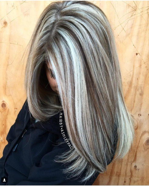 Best 25 White Hair Highlights Ideas On Pinterest: Balayage Ombré Hair : Les Meilleurs Modèles Tendance 2018