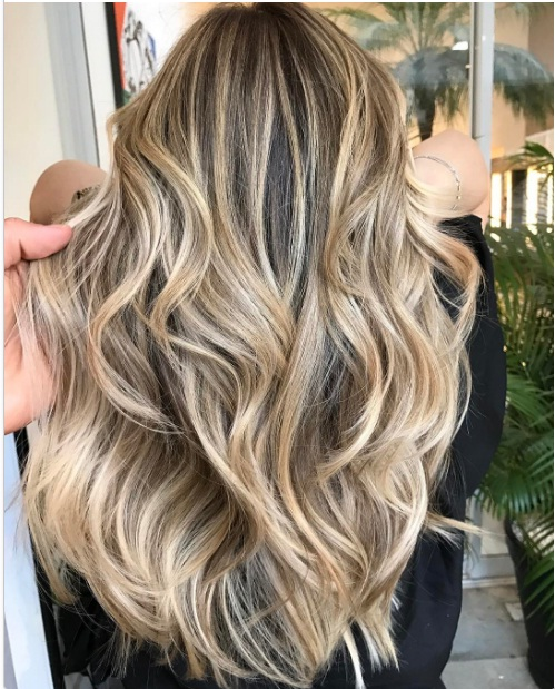 tendance balayage cheveux 2018. Black Bedroom Furniture Sets. Home Design Ideas