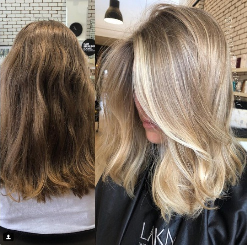balayage cheveux avant apr s les plus beaux mod les tendance 2018 coiffure simple et facile. Black Bedroom Furniture Sets. Home Design Ideas