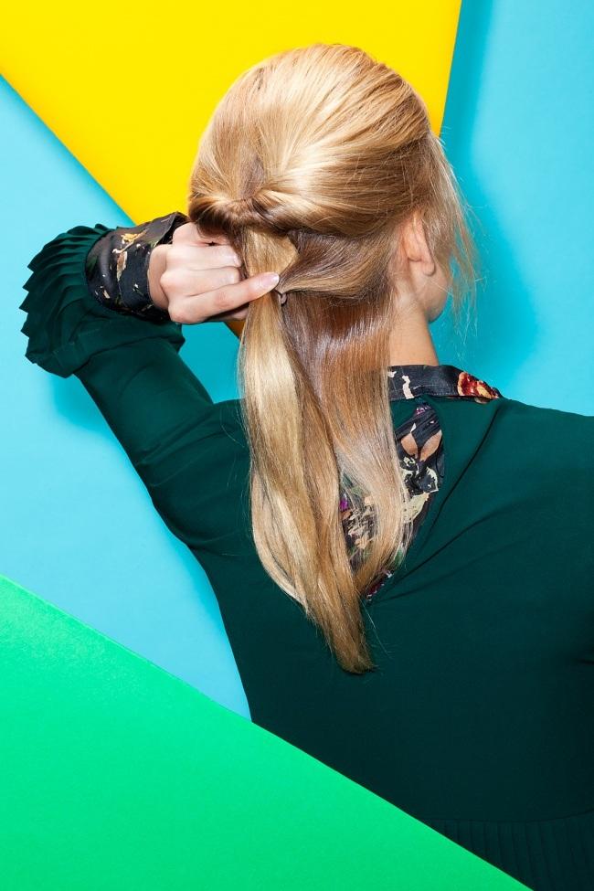 4 magnifiques coiffures pour vos cheveux mi longs. Black Bedroom Furniture Sets. Home Design Ideas