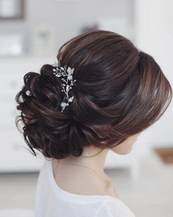 magnifique collection de coiffures de mariage sublimes pour aider les  mariées de 2018 à accomplir leurs choix et trouver la coiffure de mariage  idéale.