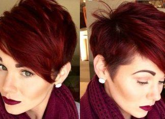 Couleur de cheveux rouge 2018