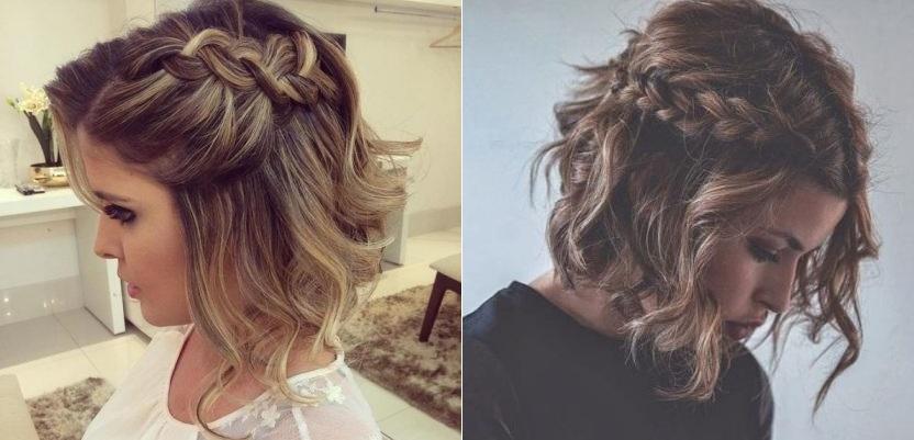 Belles id es des coiffures simple et rapides pour cheveux - Coiffure simple et rapide cheveux court ...