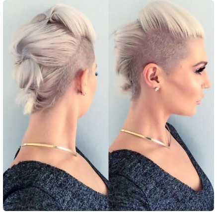 Cheveux courts  20 magnifiques coupes courtes pour femme tendance été 2018