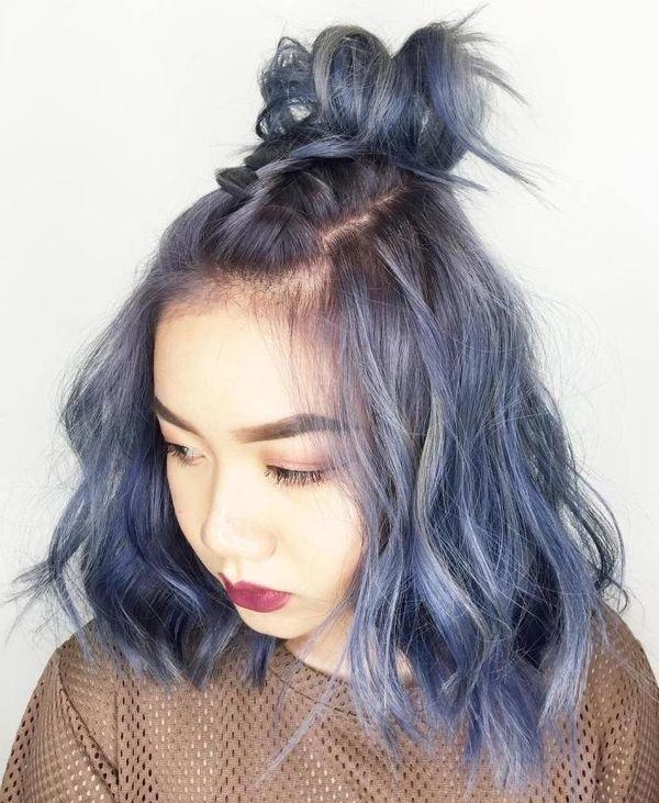 Belles Coiffures Pour Cheveux Mi Longs Tendance 2018