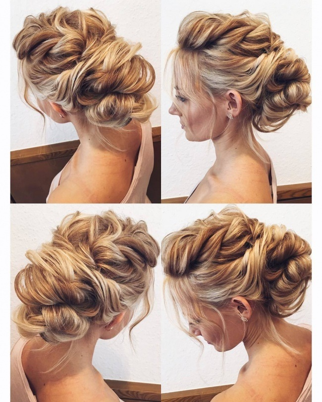 Les plus belles id es de coiffures de mariage tendance printemps t 2018 coiffure simple et - Les plus belle coiffure de mariage ...