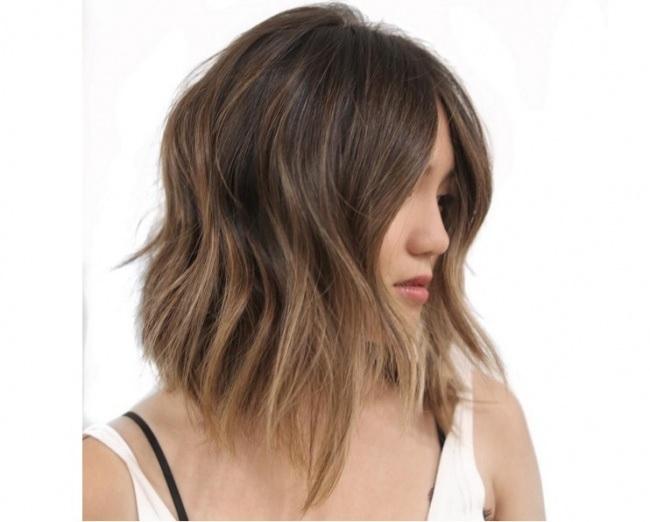 Ombre hair magnifiques couleurs cheveux mi longs tendance printemps 2018 coiffure simple et - Couleur ombre hair ...