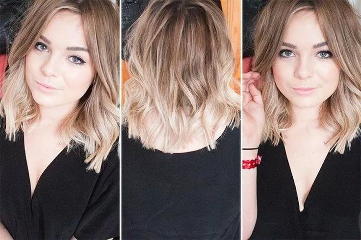 Hairstyles 2019: Cheveux Mi-longs Tendance été 2018