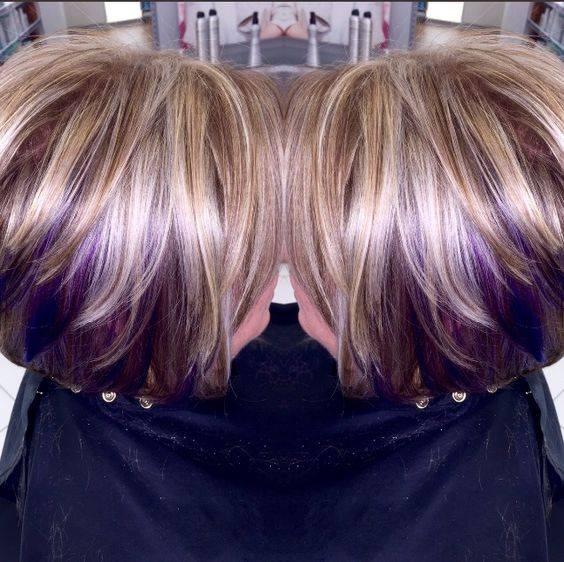 belles couleurs cheveux tendance 233t233 2018 coiffure
