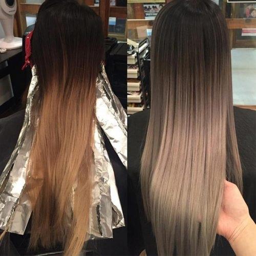 Magnifiques Ombre Hair 2018 Coiffure Simple Et Facile