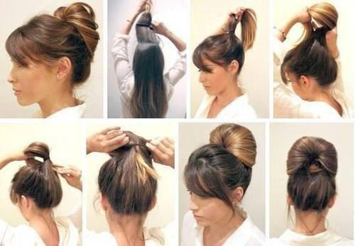 Coiffure Facile Cheveux Mi Long Soiree Coiffure Simple Et Facile
