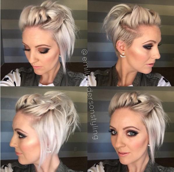 Coiffure Cheveux Courts Facile Et Rapide Coiffure Simple Et Facile