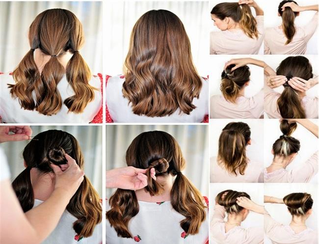 Coiffure Facile Cheveux Mi Long Soir 233 E Coiffure Simple