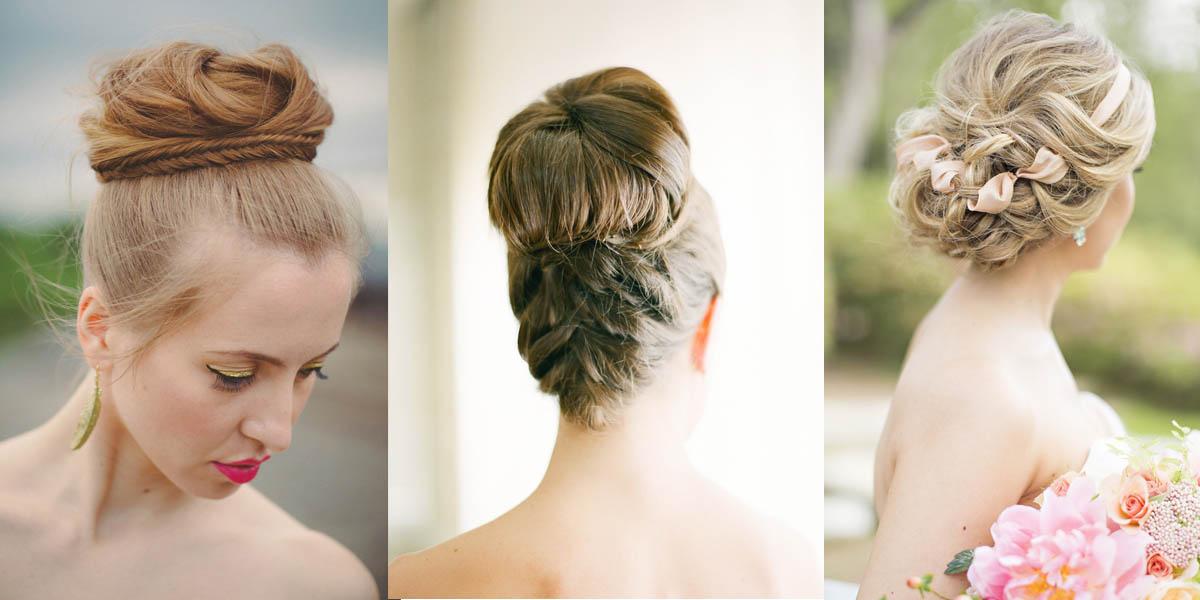 coiffure mariage chignon haut | Coiffure simple et facile