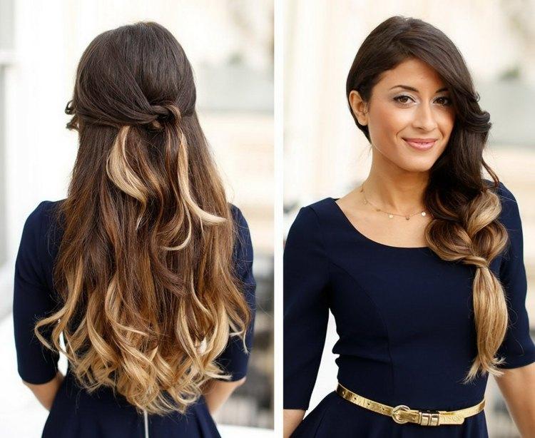 Hairstyles 2019: Coiffure Simple Et Rapide Cheveux Mi Long