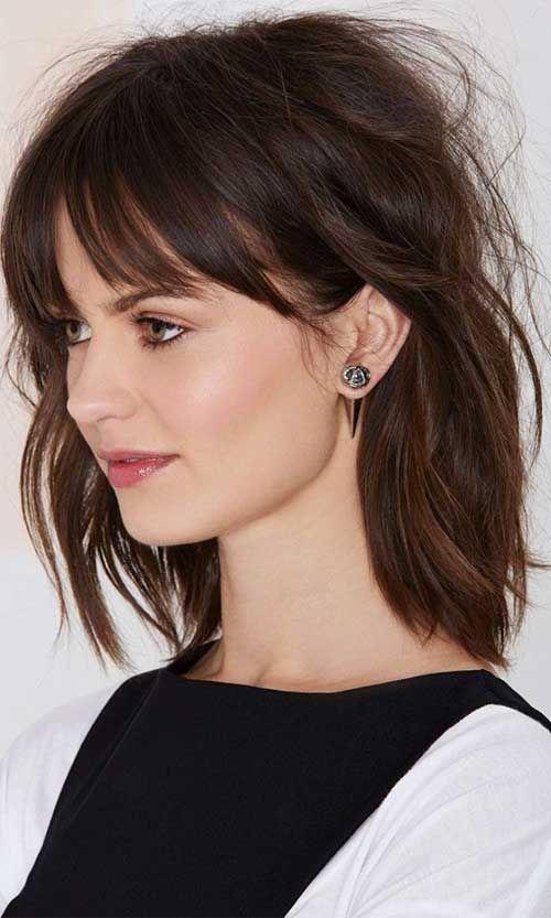 Coupe de cheveux femme mi long | Coiffure simple et facile