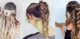 Coiffure Cheveux Longs Coiffure Simple Et Facile
