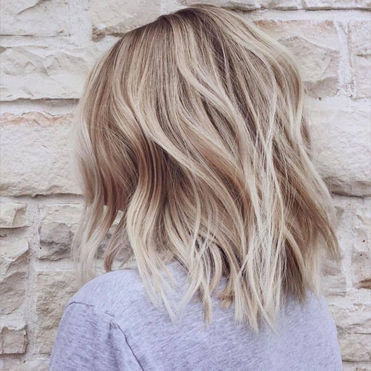 Coiffure Balayage Cheveux Long Mi Long Et Court