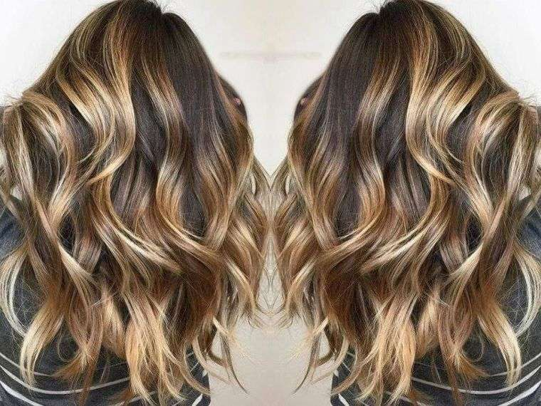 Balayage Blond Coiffure Simple Et Facile