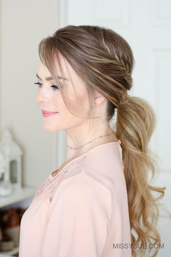 Coiffure Cheveux Long Coiffure Simple Et Facile