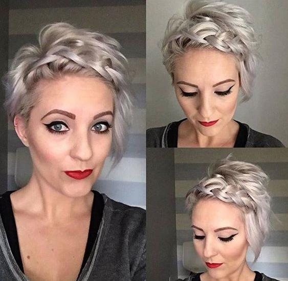 Tuto coiffure cheveux très court femme | Coiffure simple et facile