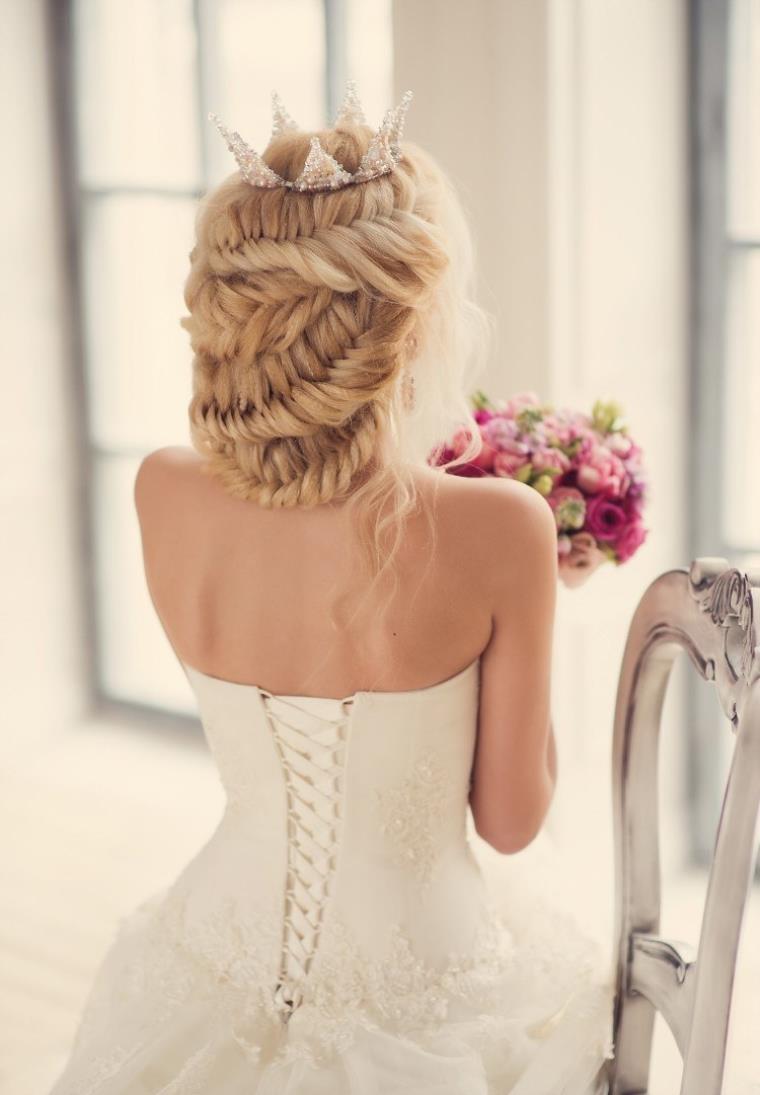 Coiffure mariage simple et chic  astuces et conseils tendance   Coiffure simple et facile