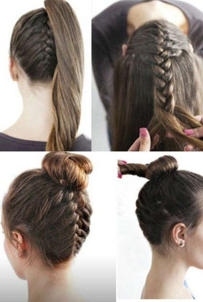 Coiffure Simple Cheveux Mi Long Attache Coiffure Simple Et Facile