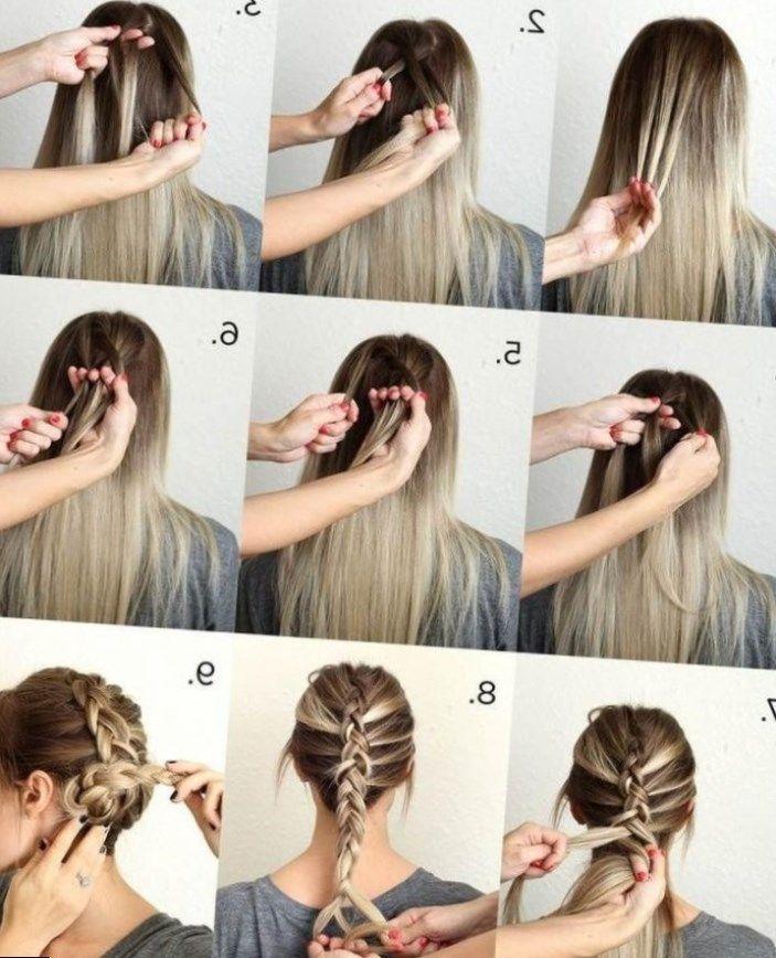 Coiffure Simple Cheveux Mi Long Attach 233 Coiffure Simple