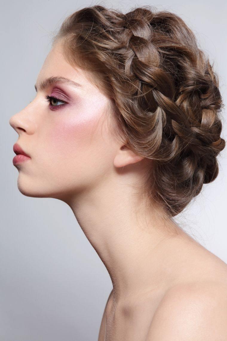 Coiffure Tresse Facile Cheveux Mi Long Coiffure Simple
