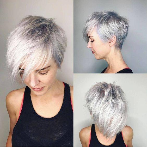 coupe cheveux court femme 2018 | Coiffure simple et facile