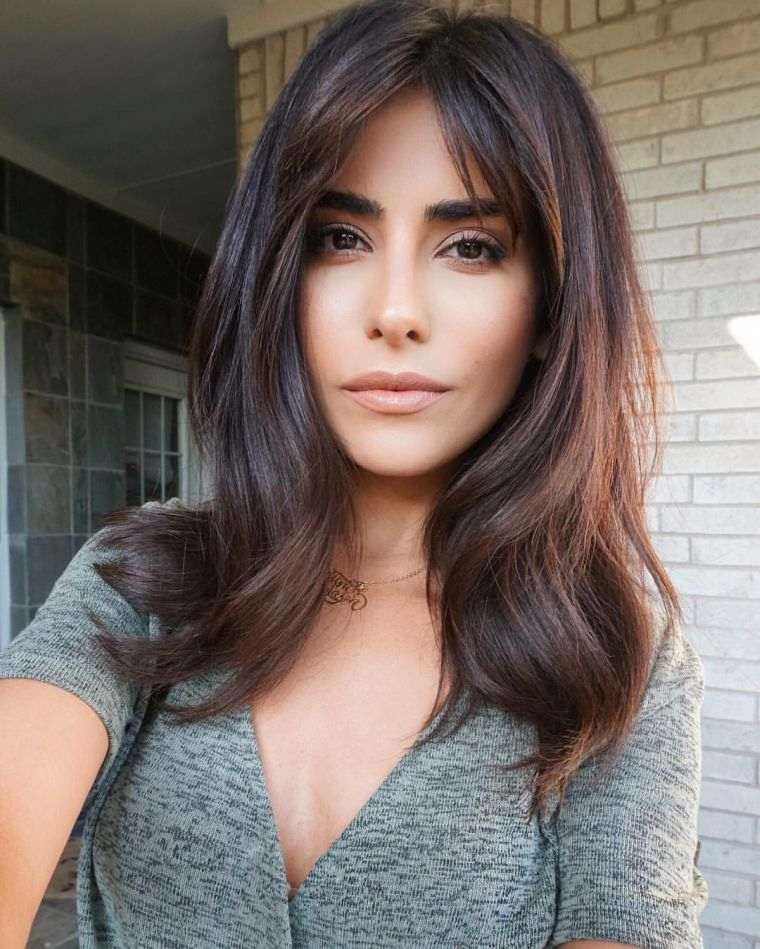 coupe cheveux dégradé mi long femme | Coiffure simple et facile