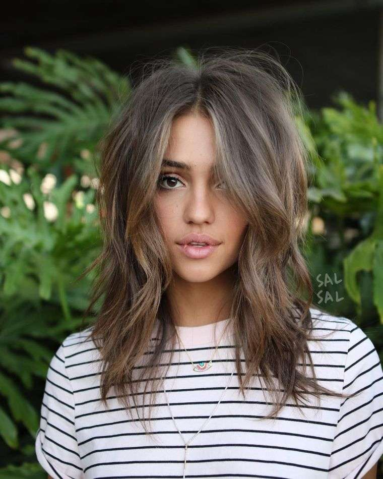 Coupe cheveux d grad mi long femme coiffure simple et for Coupe de cheveux coreen